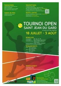 Open tennis St Jean 2014