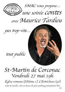 Soirée contes Maurice Tardieu